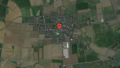 Ruskington sat view